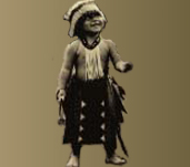 Native American boy and link to For All My Relations annual conference details