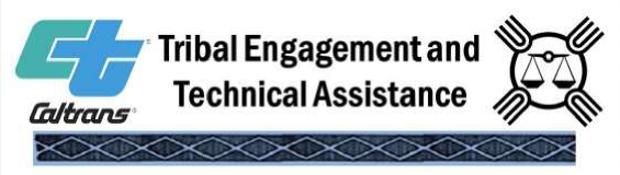 Caltrans Tribal Engagement Technical Assistance